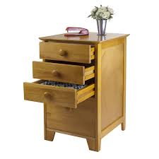 amazon com winsome solid wood 4 drawer lateral wood file cabinet