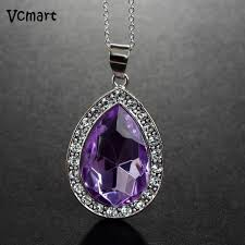 purple necklace chain images 1pcs princess sofia the first chain necklace stainless steel with jpg