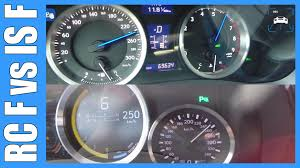 lexus rc 300 horsepower lexus rc f 477 hp vs lexus is f 423 hp 0 260 km h acceleration