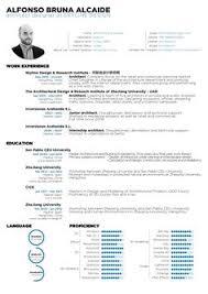 Resume Portfolio Examples by Gallery Of The Top Architecture Résumé Cv Designs 7 Cv Design
