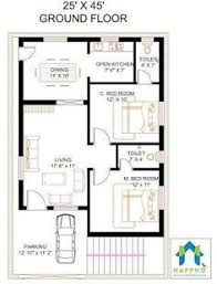 2bhk house plans image result for 2 bhk floor plans of 25 45 z pinterest house