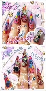 108 best nails images on pinterest kawaii nails 3d nails art