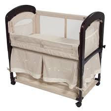 cambria co sleeper baby bassinet with storage space by arm u0027s