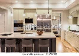 Pendant Lighting For Island Kitchens Kitchen Interior Stock Images Royalty Free Images U0026 Vectors