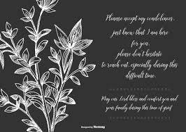 condolences card condolence card free vector 12856 free downloads