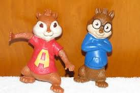 alvin and the chipmunks cake toppers alvin and the chipmunks the squeakquel toys
