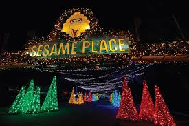 a very furry christmas at sesame place celebrates the holiday