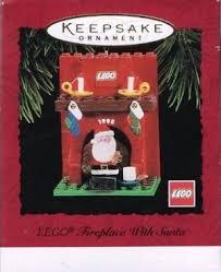 hallmark keepsake ornament qx4769 lego fireplace with