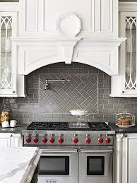 interior brown subway tile backsplash kitchen lowes backsplash