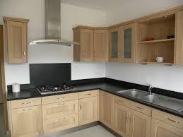 cuisine chene clair moderne cuisine chene le bois chez vous