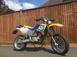 husqvarna 610 factory supermoto electric start road legal