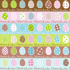 beautiful wrapping paper easter wrapping paper seamless pattern stock vector