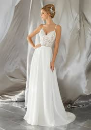 flowy wedding dresses mina wedding dress style 6861 morilee