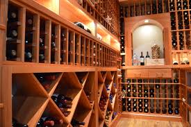 best wood materials for san francisco custom wine racks and display