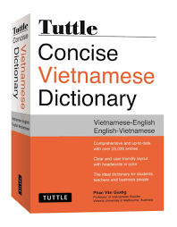 tuttle concise vietnamese dictionary vietnamese english english