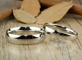elvish wedding rings handmade dome shape custom your words in elvish tengwar matching