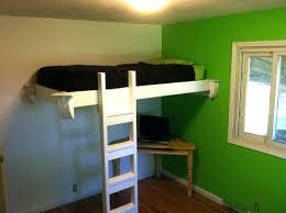 diy girls loft bed beds floating loft bed plans bunk design custom beds rooms build