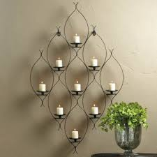 candle holders wall decor candle wall decor thearmchairs ideas