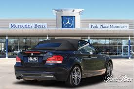 park place lexus oil change pre owned 2013 bmw 1 series convertible includes premium package
