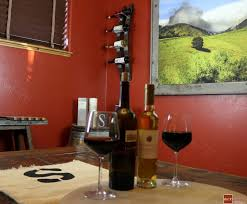 how to make a barrel wine rack diy pete