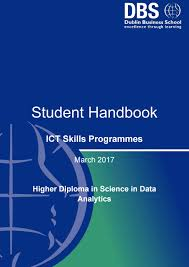 ict data analytics handbook march 2017 f t by dublin business