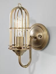 Brass Bathroom Lighting 1 Light Wall Bracket Wb1703dab Premier Quality Electrical