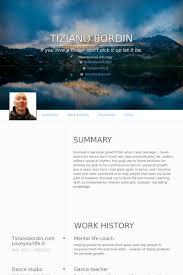 Coaching Resume Samples by Coach Cv örneği Visualcv özgeçmiş örnekleri Veritabanı
