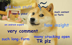 What Is Doge Meme - such tech much doge 15 of our own it inspired memes techrepublic