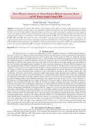 flow physics analysis of three bucket helical savonius rotor at 90