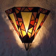 Art Deco Wall Lights Portfolio Novus Stained Glass