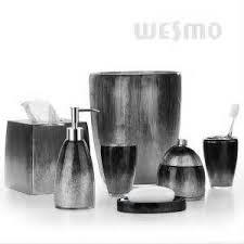 Gray Bathroom Sets - black and white bathrooms design ideas decor and accessories