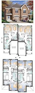 Floor Plan 306 Best Town Homes Images On Pinterest Floor Plans Small Town Home Plans