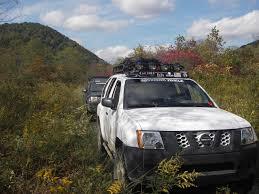 2014 Nissan Frontier Roof Rack by Nissan Xterra 00 04 Ranger Rack Multi Light Setup No Sunroof