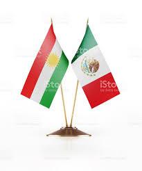 Mexico Flag Symbol Miniature Flag Of Kurdistan And Mexico Stock Photo Istock
