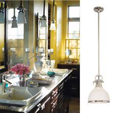 Bathroom Pendant Light Fixtures Bathroom Lighting Isn U0027t Exclusive To Wall Sconces Anymore Blog