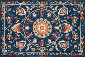 Francesca Rugs Francesca Fc 54 Blue Spice Francesca Browninteriors Com