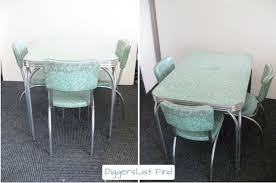 50s Dining Chairs 50s Era Dining Set Styled 3 Ways Homejelly