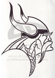 simple norse tattoo outline viking tattoo design