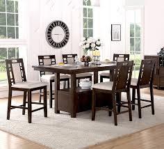 Winston Porter Nika  Piece Counter Height Dining Set  Reviews - 7 piece dining room set counter height
