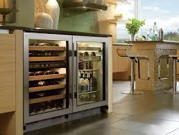 Under Cabinet Wine Fridge by Sub Zero 424golh 24 Inch Undercounter Dual Zone Wine Storage With