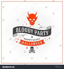 happy halloween badge sticker label design stock vector 732464512
