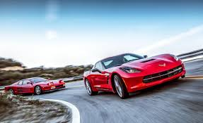 galaxy ferrari 1990 ferrari testarossa vs 2014 chevrolet corvette stingray