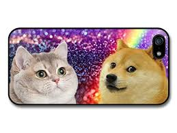 Cat Rainbow Meme - com new funny doge dog meme cat rainbow space hipster case
