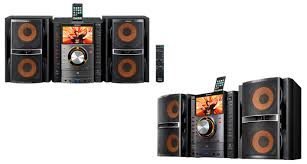 Bookshelf Cd Stereo System Sony Silently Releases Muteki Mhc Gzr33i Shelf Stereo With 7 Inch