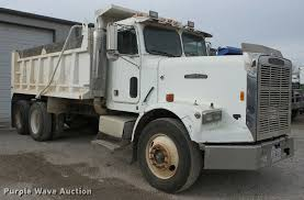 1988 freightliner fc60 dump truck item ag9275 sold janu