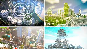 City Maps 5 Incredible City Maps In Minecraft Youtube