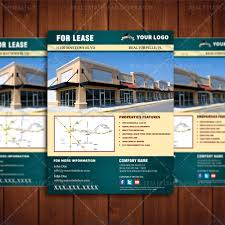 Real Estate Flyers Template by For Lease Commercial Property Listing Template U2013 Real Estate Lead