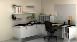 useful spaces a home office with ikea cabinets within office