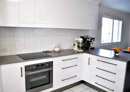 splashback ideas white kitchen impressive new style achieved without layout changes