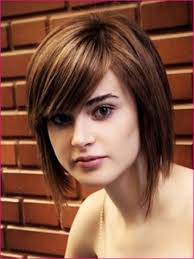 medium short hairstyle for round faces women medium haircut